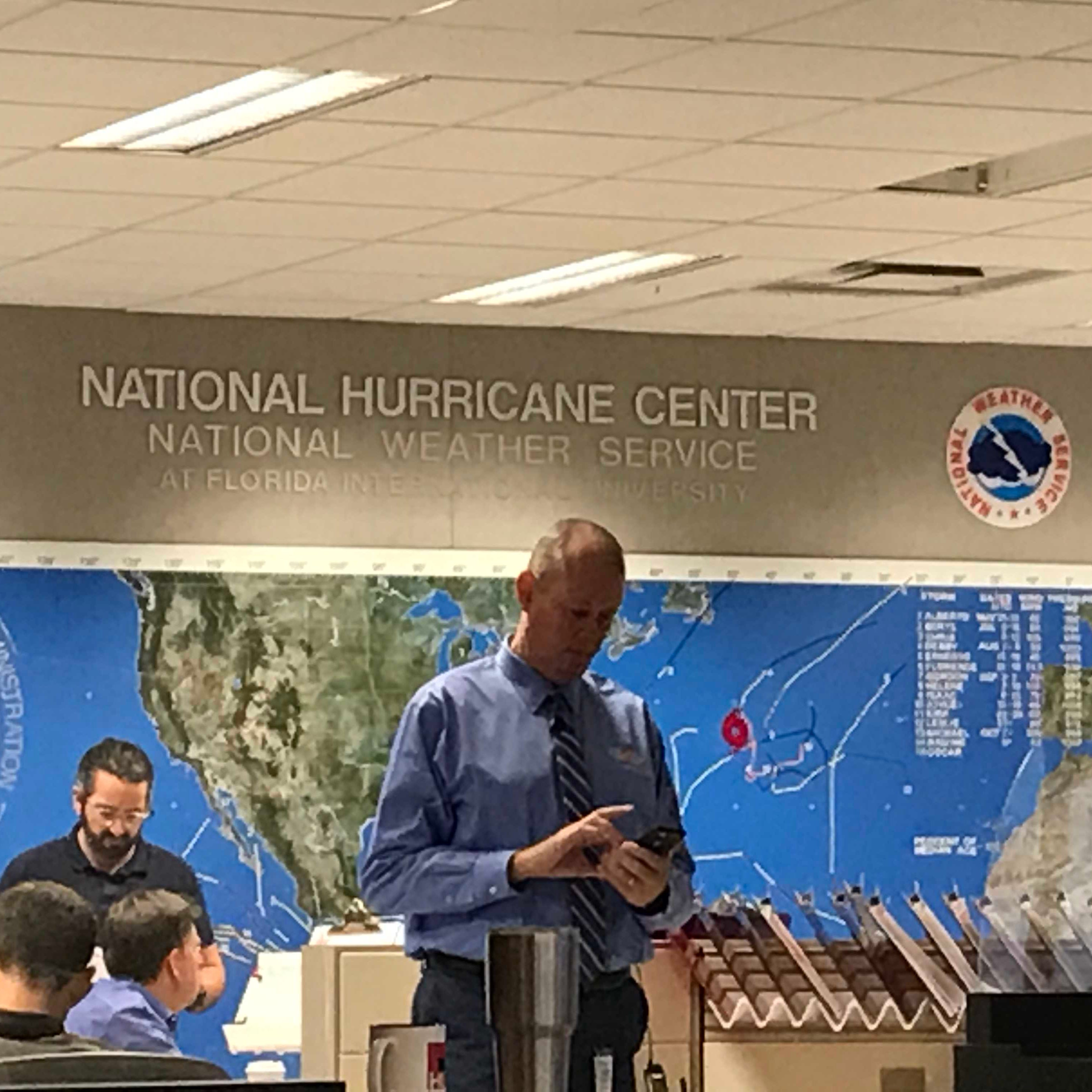 LIVE: TCPalm is at the National Hurricane Center for the latest on Hurricane Michael