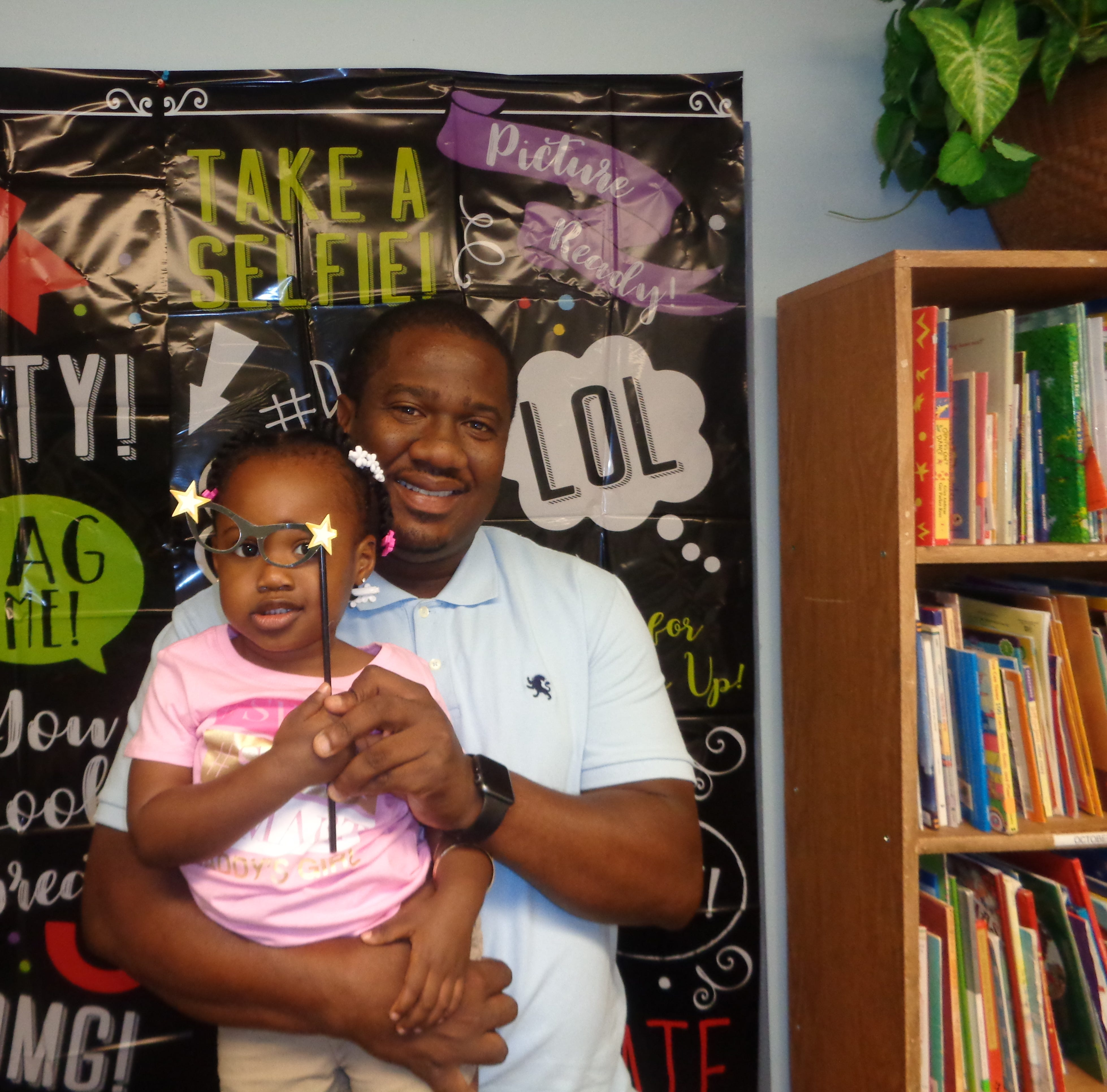 Dads show up strong at 'Take Your Dad to School Day' in Stuart
