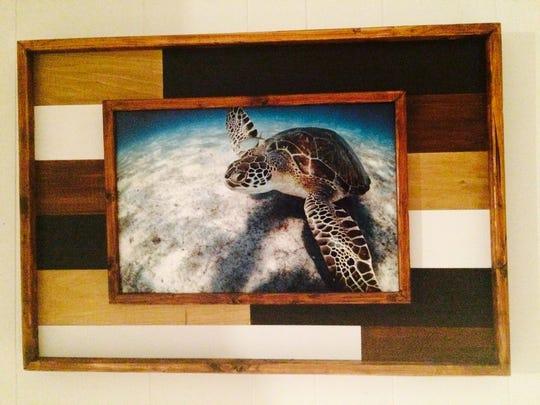 Jupiter underwater photographer Jeff Beige and artisan Diane Reiley have stunningly framed photos of Florida ocean life.