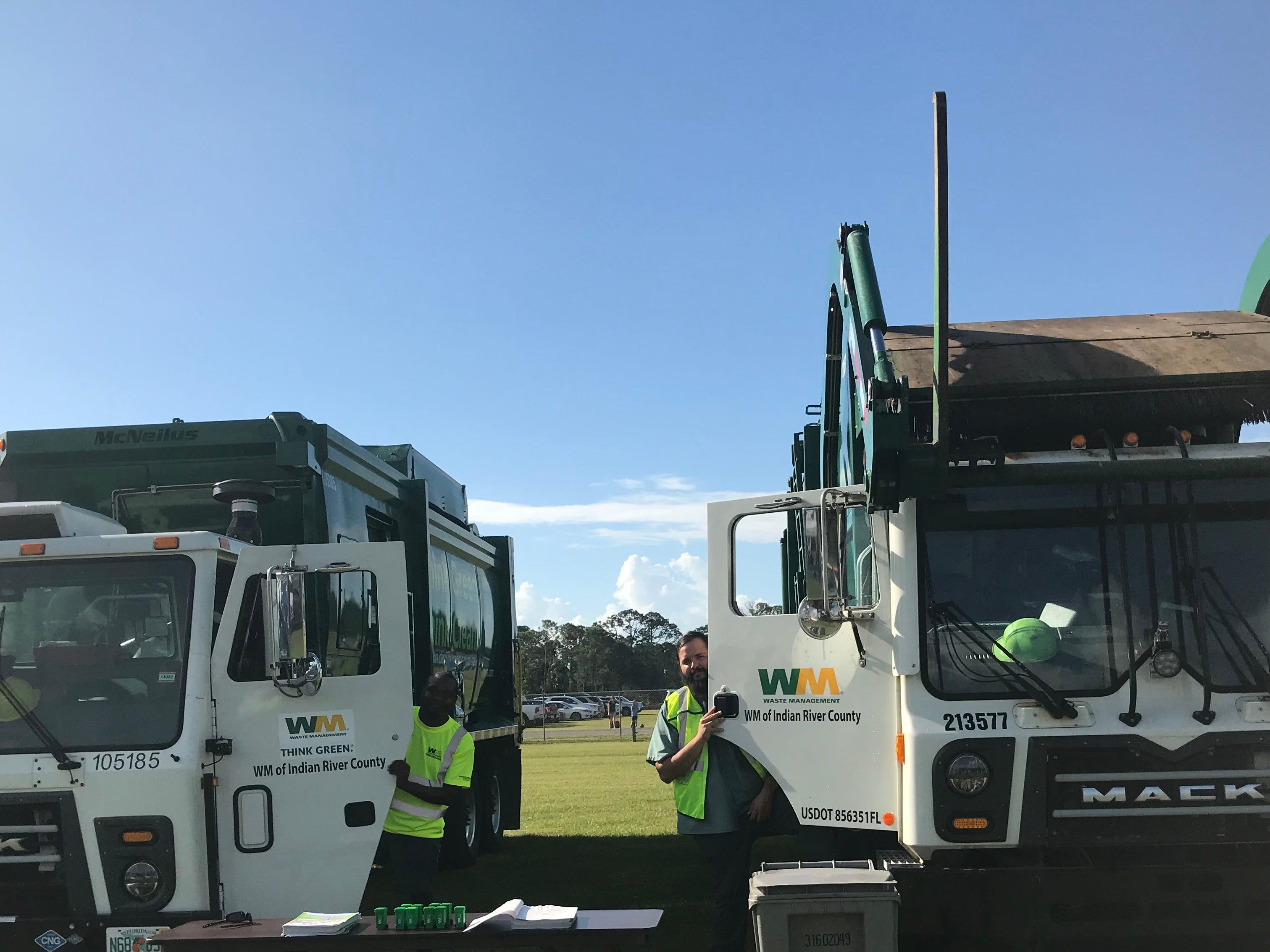 Waste Management's Andrew Hammond and Luis Gernea