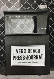 Press Journal newspaper boxes were prevalant in the Indian Riuver county area.