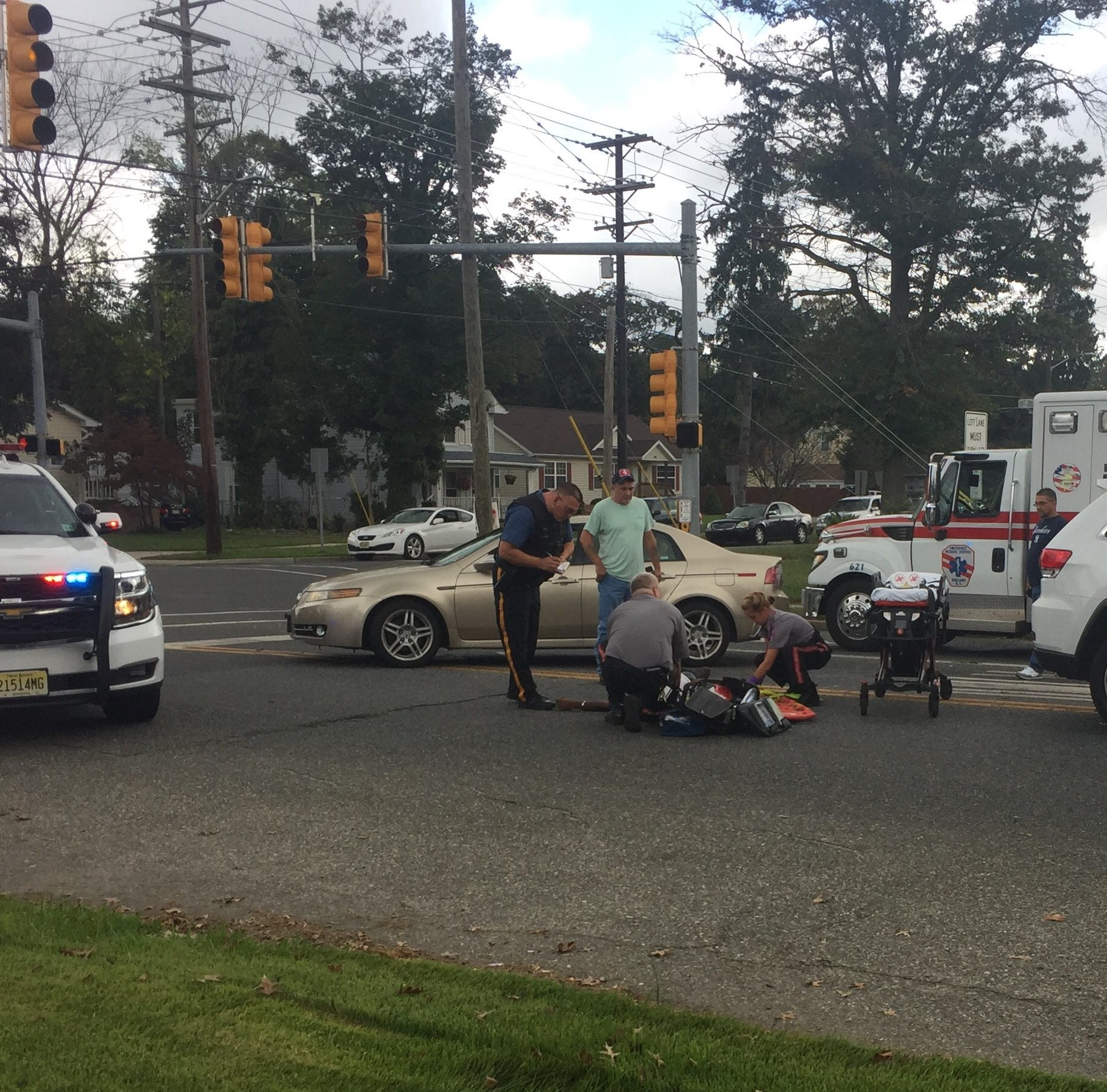 Vineland driver cited after collision with pedestrian