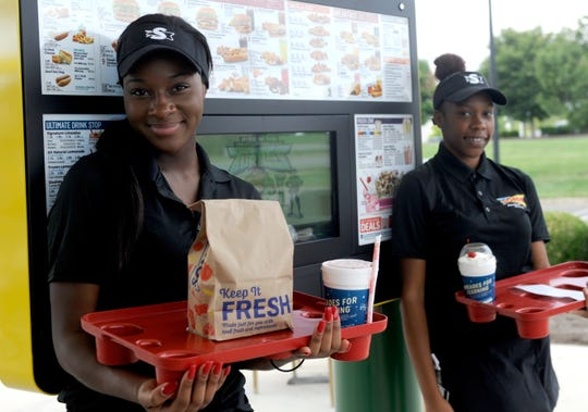 Sonic employees at the Millville location pictured here on October 9, 2018.