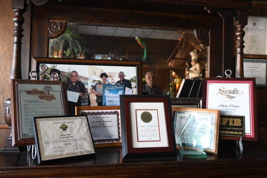 The Corteses have earned many awards for their community service - including donating a kitchen to SCICON.