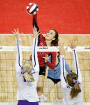 Rylie Vaughn, who helped the Newman Catholic to four straight WIAA Division 4 state championships, is a member of the UW-Milwaukee volleyball team this Fall.