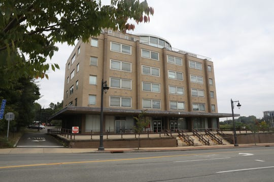 Rockland County Executive Ed Day announce a developer has withdrawn an offer to buy the closed Sain Building for $4.5 million during a press conference in New City Oct. 9, 2018.