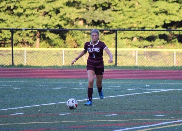 Albertus Magnus freshman Josie Cavallo was named the lohud girls soccer Player of the Week on Oct. 9, 2018.