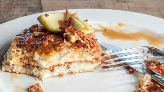 Caramel apple pancakes at Drip Cafe in Hockessin were picked as a top breakfast item by People magazine.