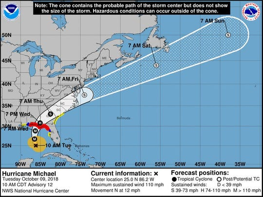 Hurricane Michael is expected to bring devastating impacts to the Gulf Coast, and could bring wind and rain to the Delmarva area later this week.