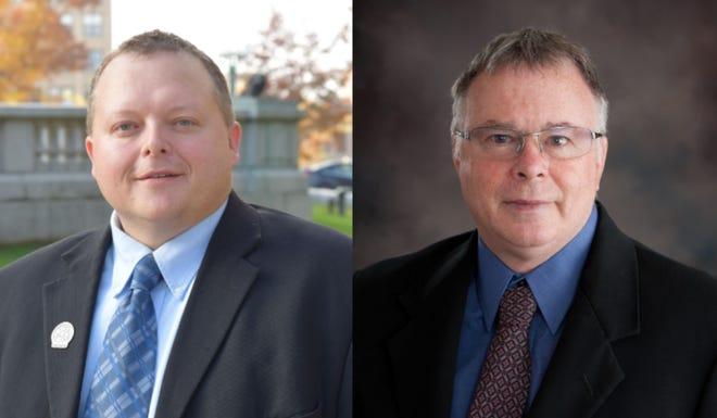 Rep. Scott Krug (left) and David Gorski (right)