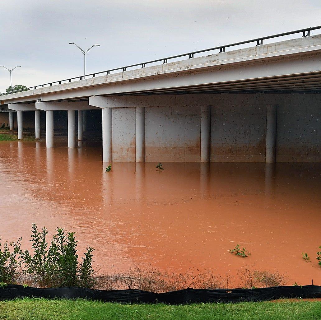 Rain makes area rivers rise
