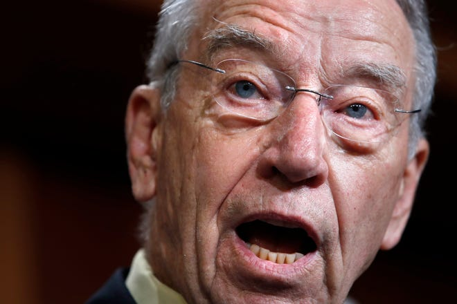 Senator Chuck Grassley warned the consideration of the USMCA could be delayed by the impeachment of President Trump.