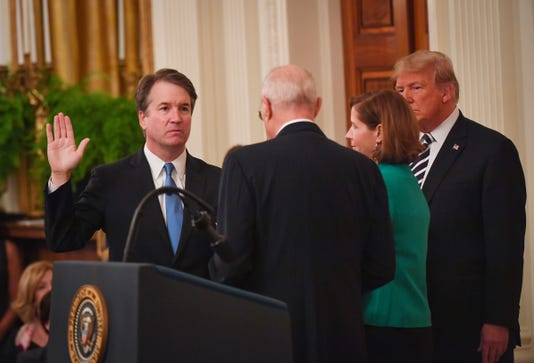 Usp News Kavanaugh Sworn In A Usa Dc