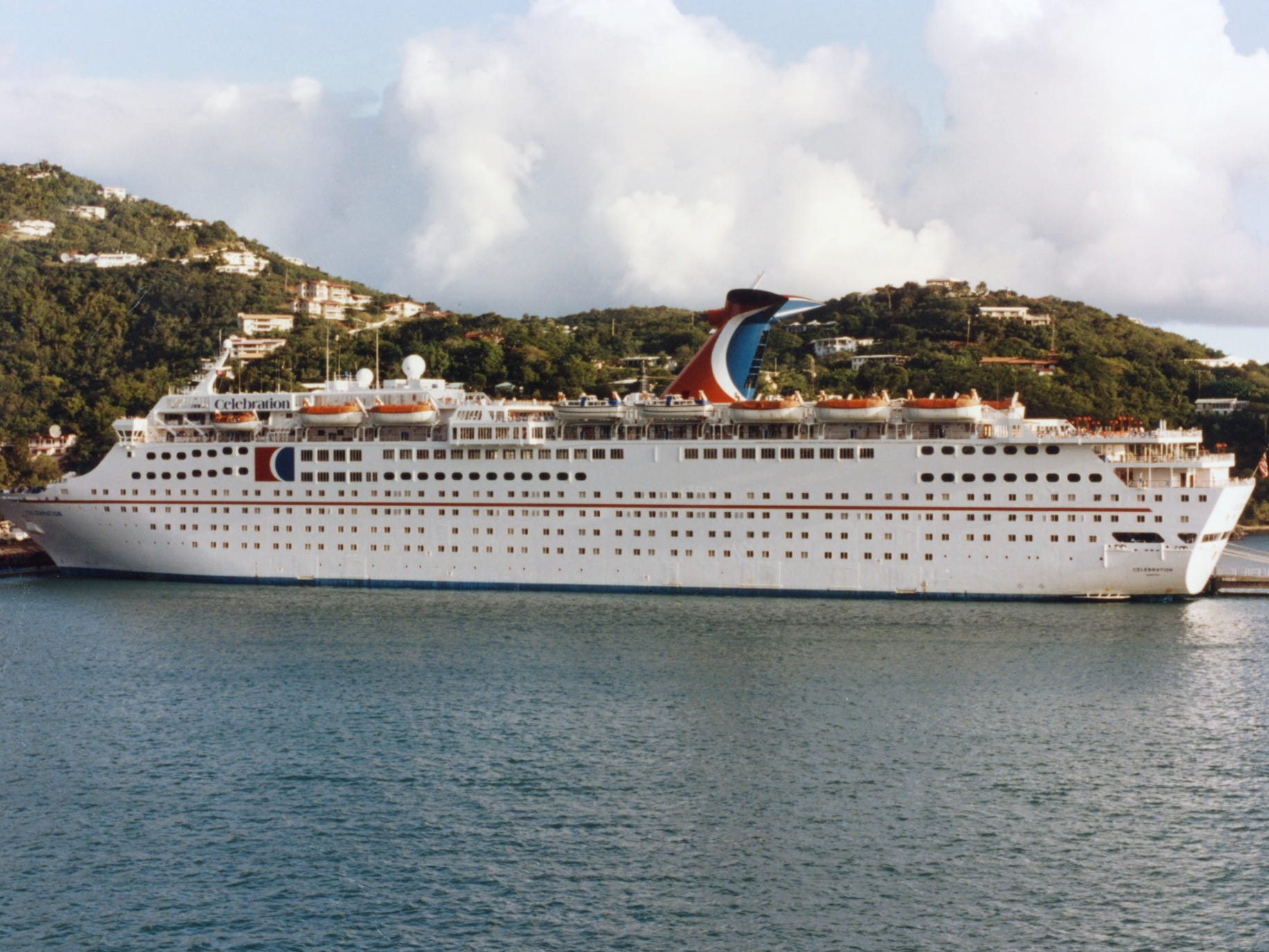 The Celebration was based in the Caribbean for most of its career with Carnival.