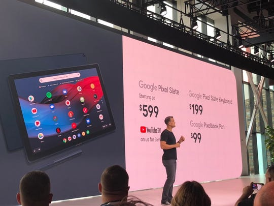 Google just announced its new tablet, Google Pixel Slate.