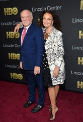 Event co-chairs Barry Diller and Diane von Furstenberg attend the Lincoln Center for the Performing Arts American Songbook Gala at Alice Tully Hall on May 29, 2018, in New York.