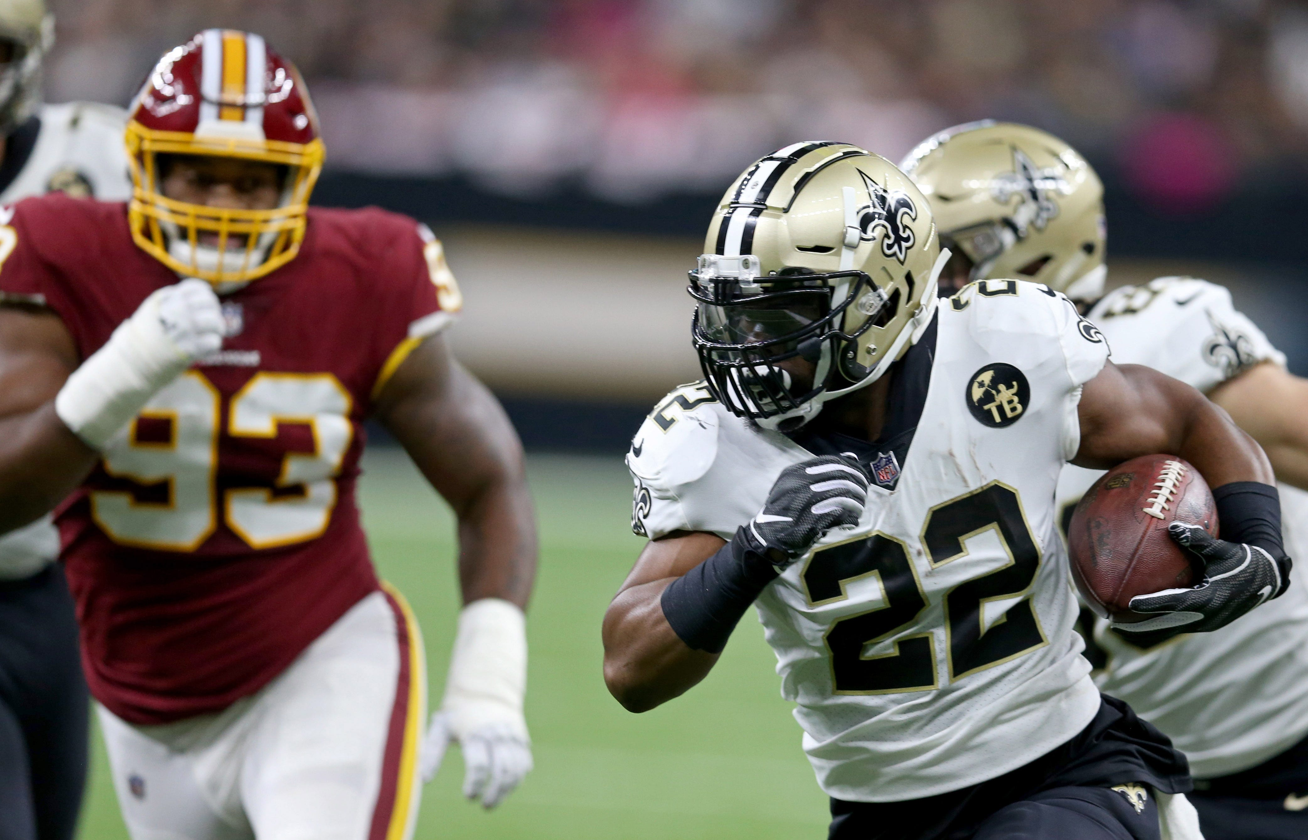 Nfl Washington Redskins At New Orleans Saints