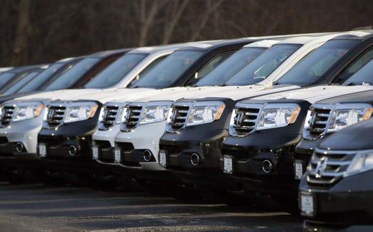 Honda vehicles in the U.S.