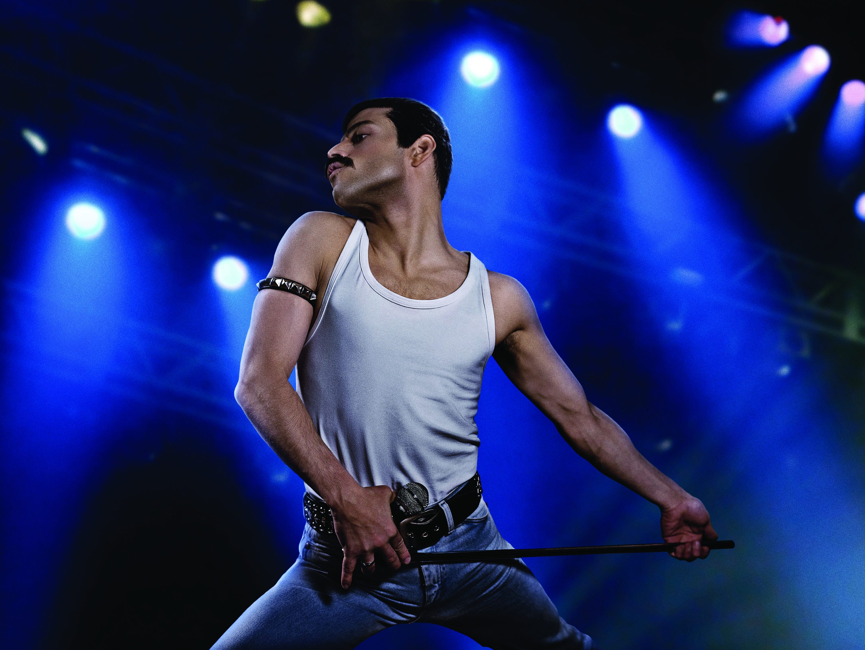 Rami Malek as rock icon Freddie Mercury in the upcoming Twentieth Century Fox/New Regency film BOHEMIAN RHAPSODY.