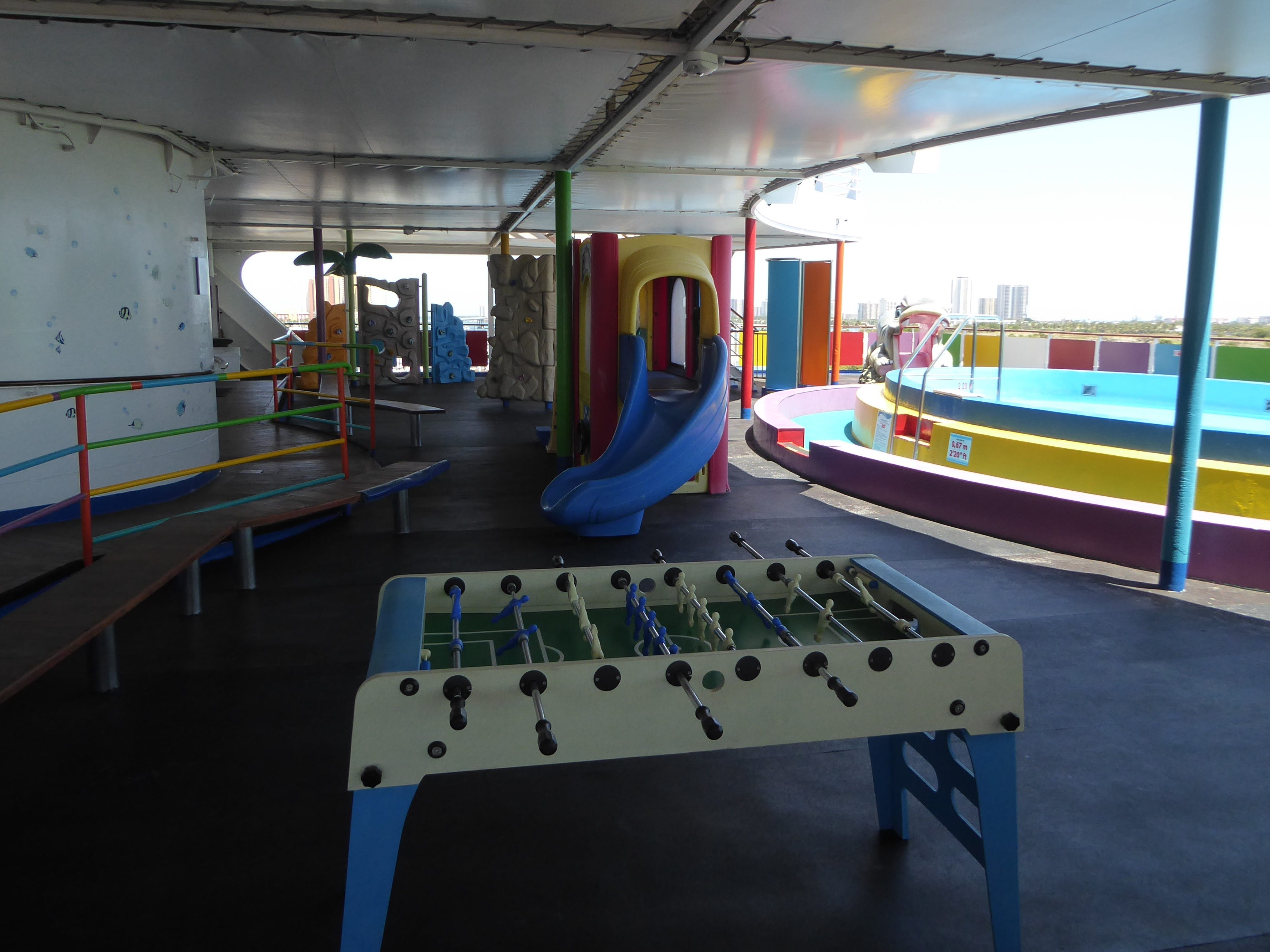 Here is another view of the play area on aft Paradise Deck.