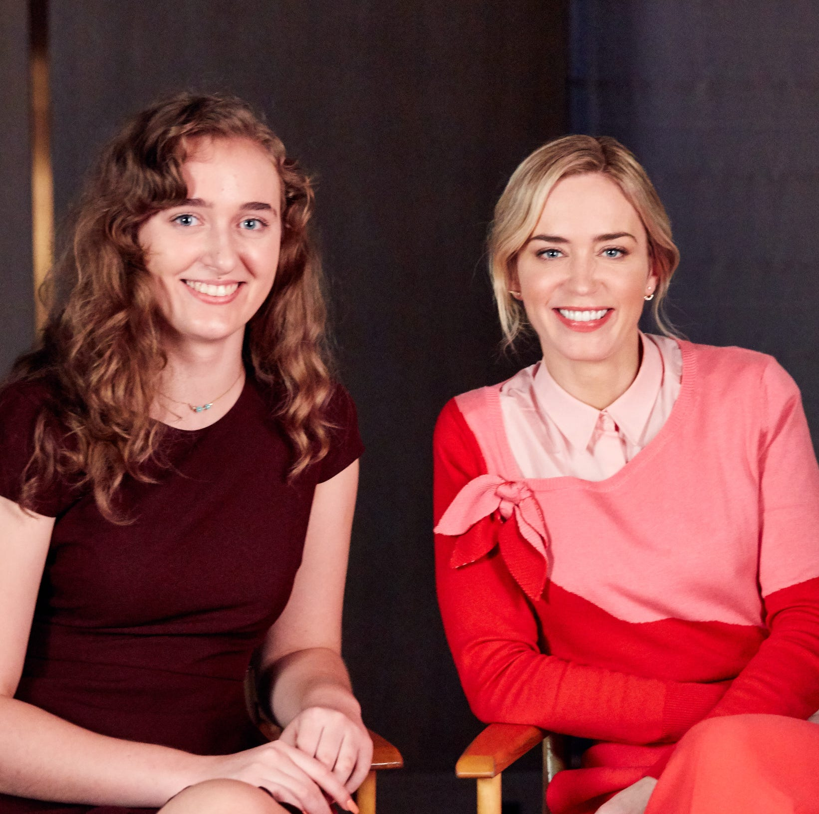"Emily Blunt, award-winning actress who stars in the upcoming ""Mary Poppins Returns,"" shared an empowering message for young women in Disney's #DreamBigPrincess video series."