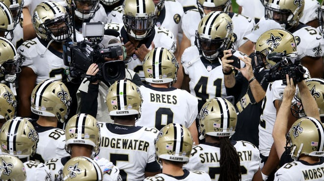 Saints QB Drew Brees' teammates love him ... even if the rest of us take him for granted.