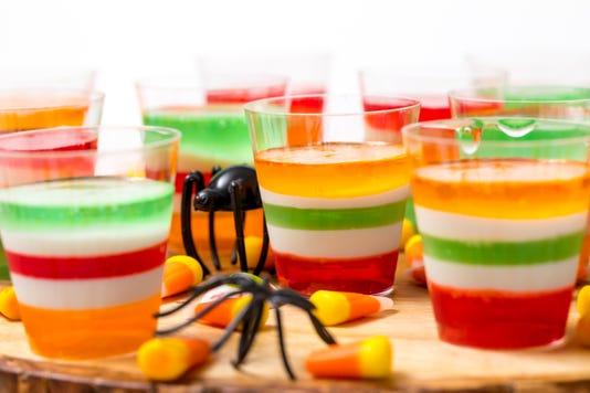 Halloween Jell O Shots