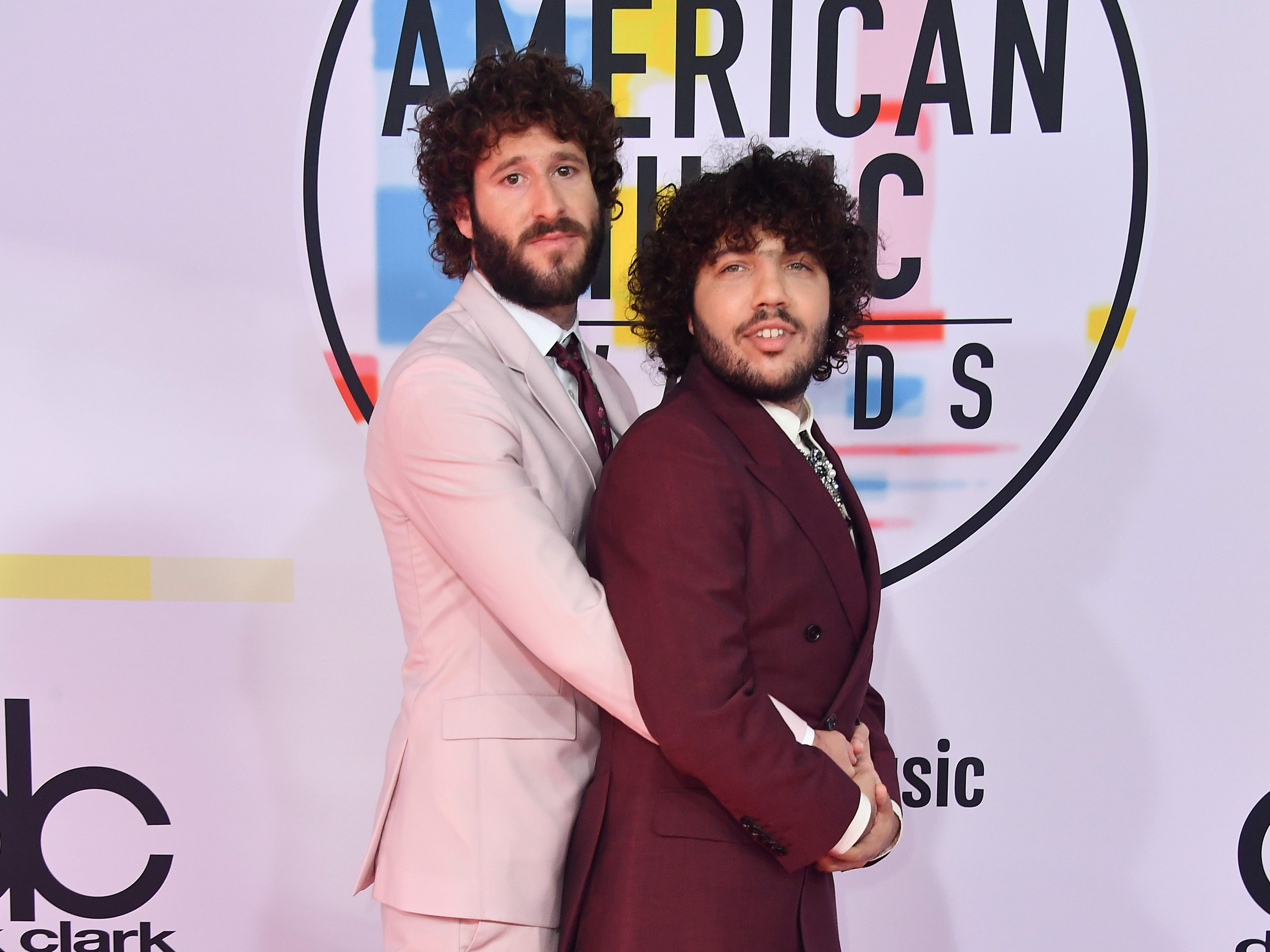 Lil Dicky, left, and Benny Blanco