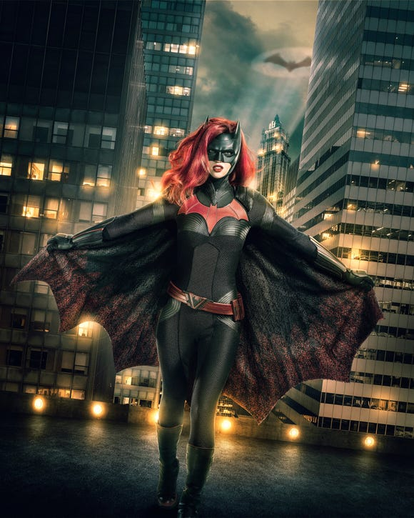 Ruby Rose is Batwoman.