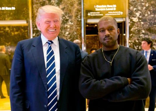 Ap Trump Kanye A File Ent Usa Ny