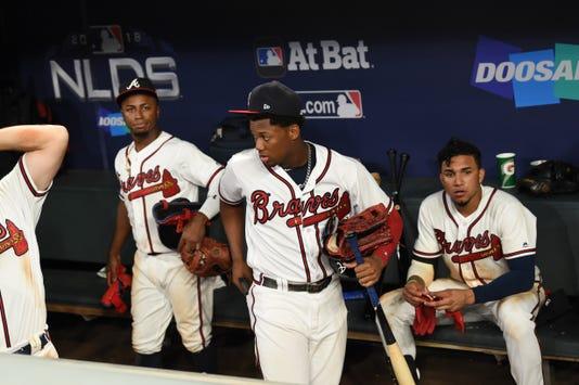 Mlb Nlds Los Angeles Dodgers At Atlanta Braves
