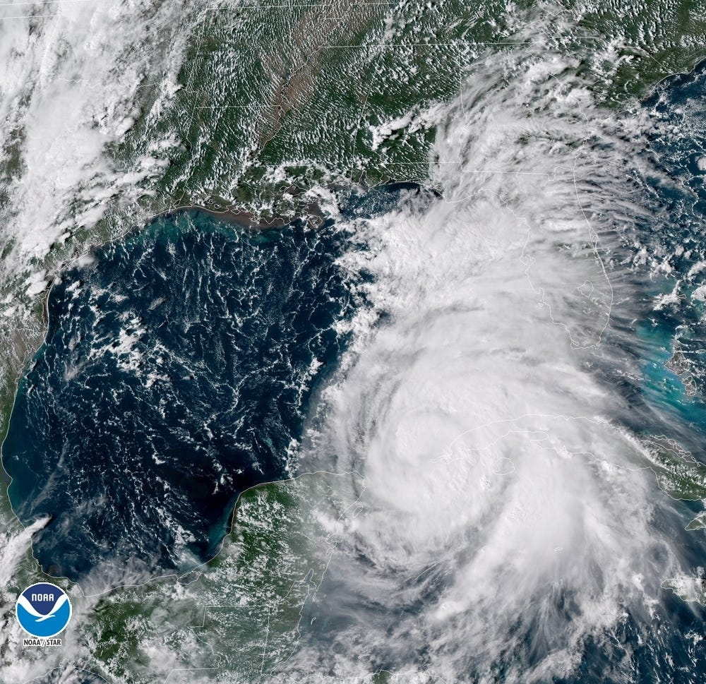 'Potentially catastrophic' Hurricane Michael charges toward Florida Panhandle