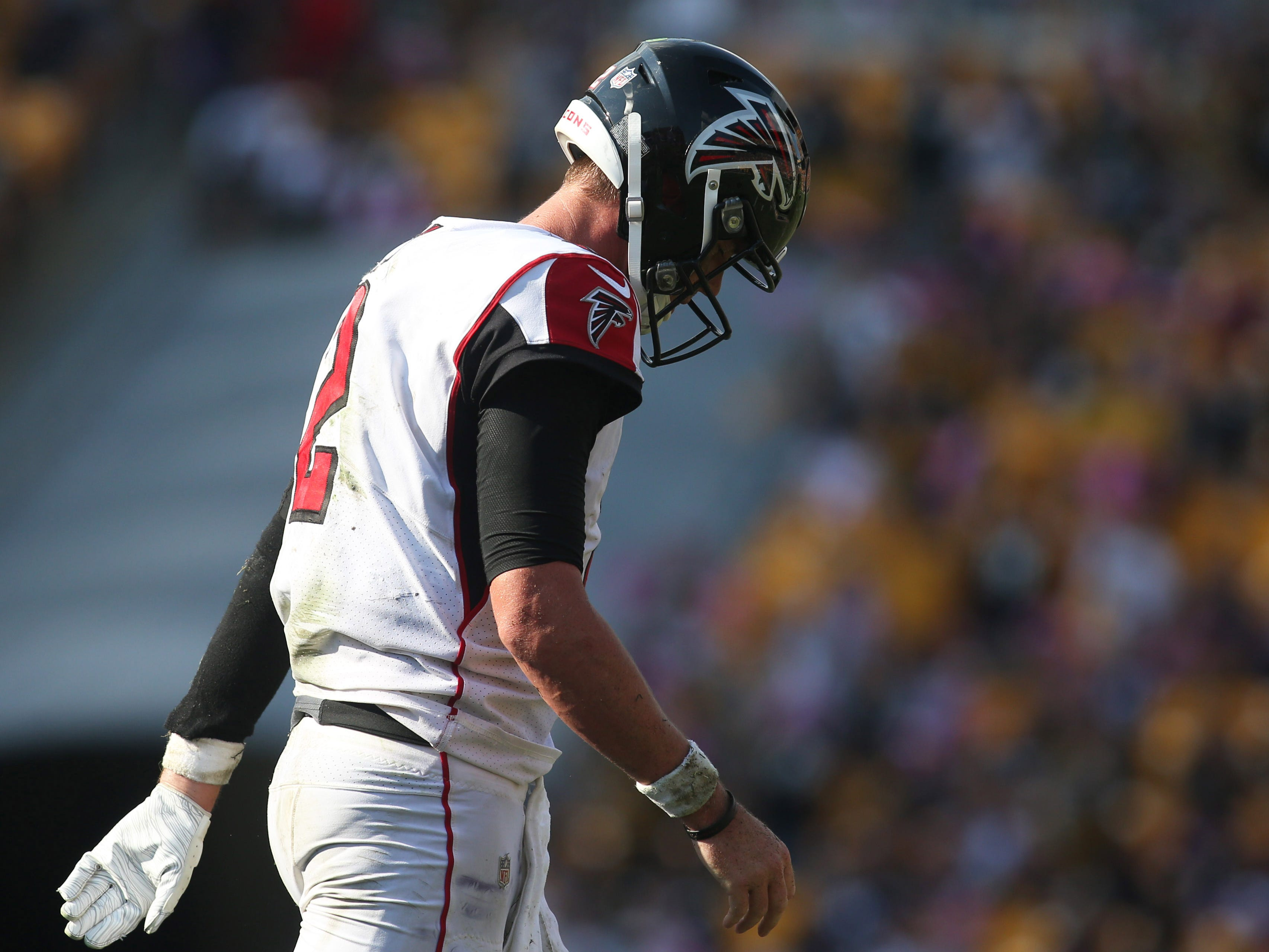 21. Falcons (15): They don't have to travel until November, so if they're going to make season-salvaging run, it's time to take care of business at home.