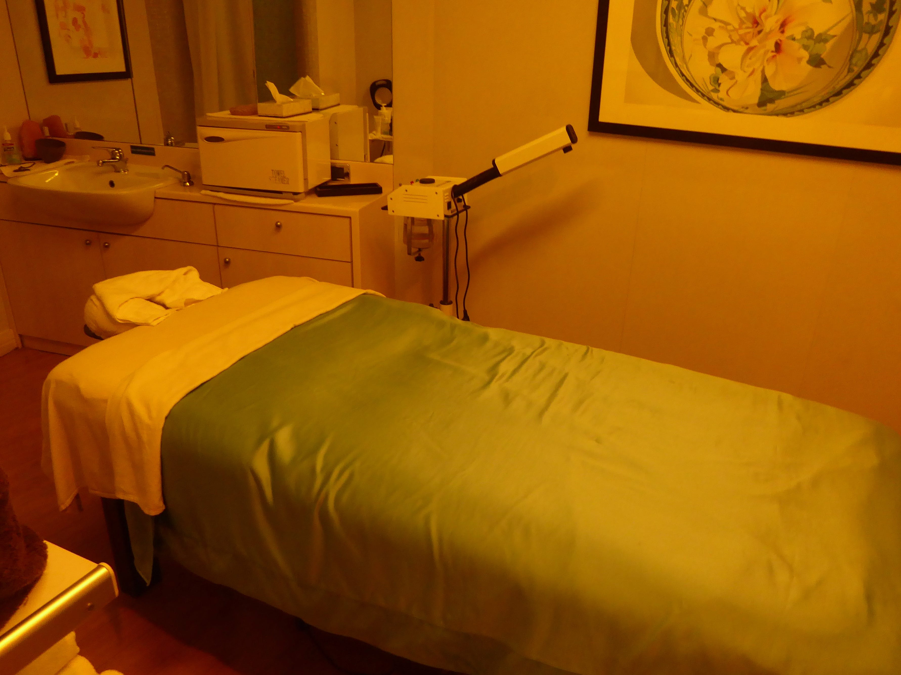 This is treatment room 4 in the Indulgence Spa.