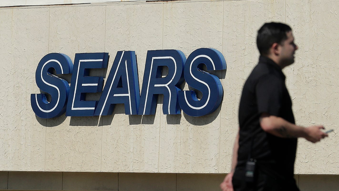 Sears Stock Price Falls 16 On Bankruptcy Filing Concerns