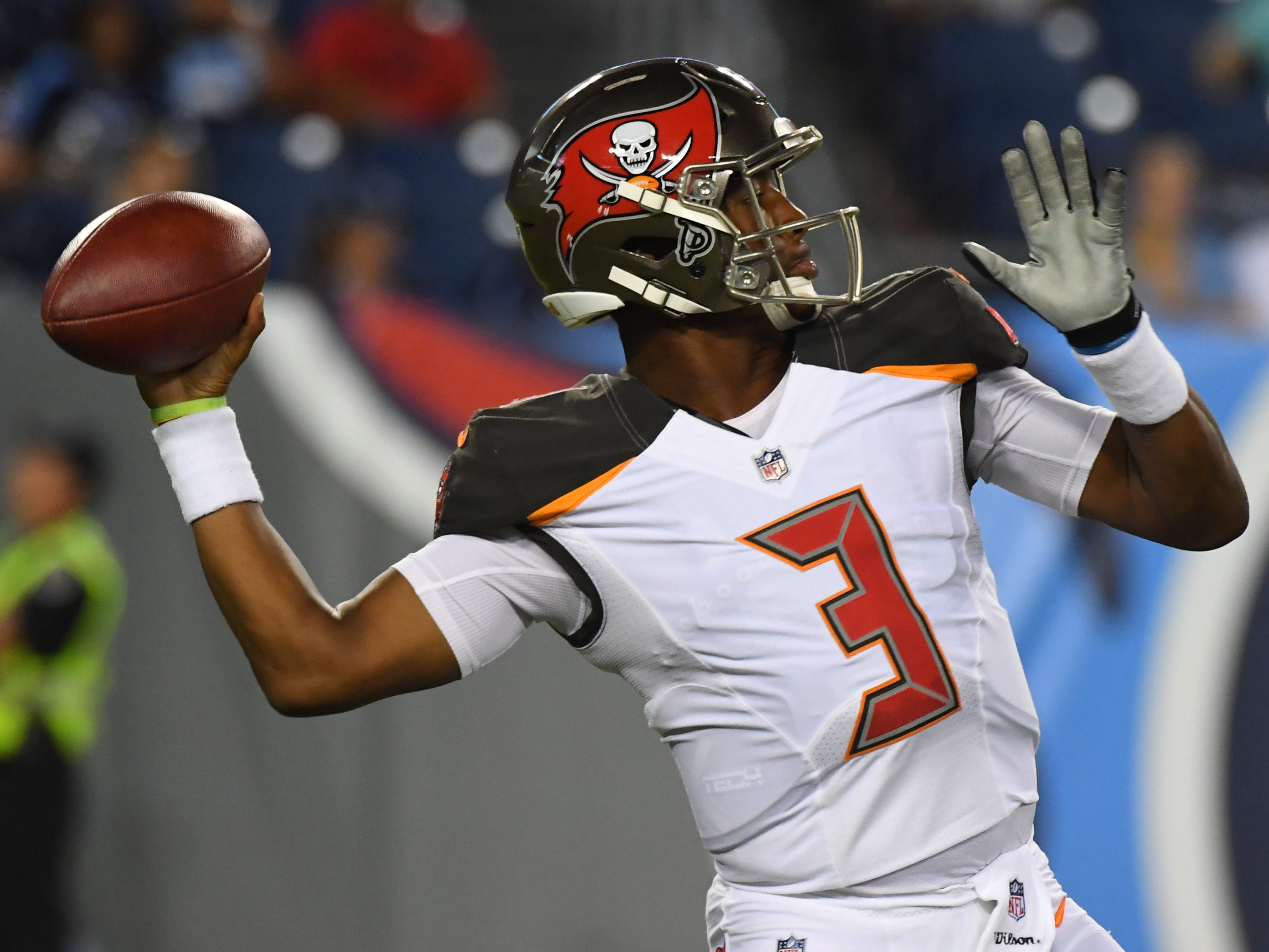 18. Buccaneers (19): Jameis Winston will be back in saddle, taking NFL's top passing offense to Atlanta. Note: Winston has lost nine of 10 while in saddle.