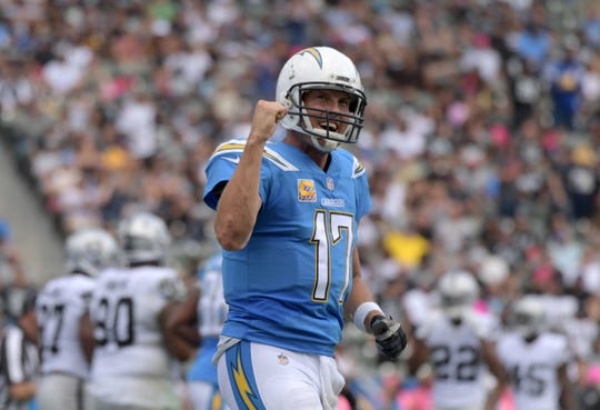 Phillip Rivers has started a quarterback for every game with San Diego since the beginning of the 2006 season.