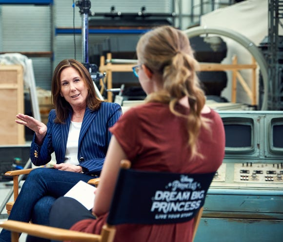Kathleen Kennedy, film producer and president of Lucasfilm, shares her inspiration for the next generation of female leaders in Disney's #DreamBigPrincess video series.
