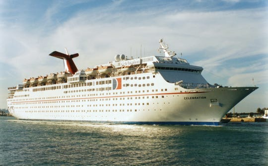 """The Grand Celebration was originally Carnival Cruise Line's Celebration, the third in its Holiday Class of """"Super Liners"""" that also included the Holiday of 1985 and the Jubilee of 1986."""