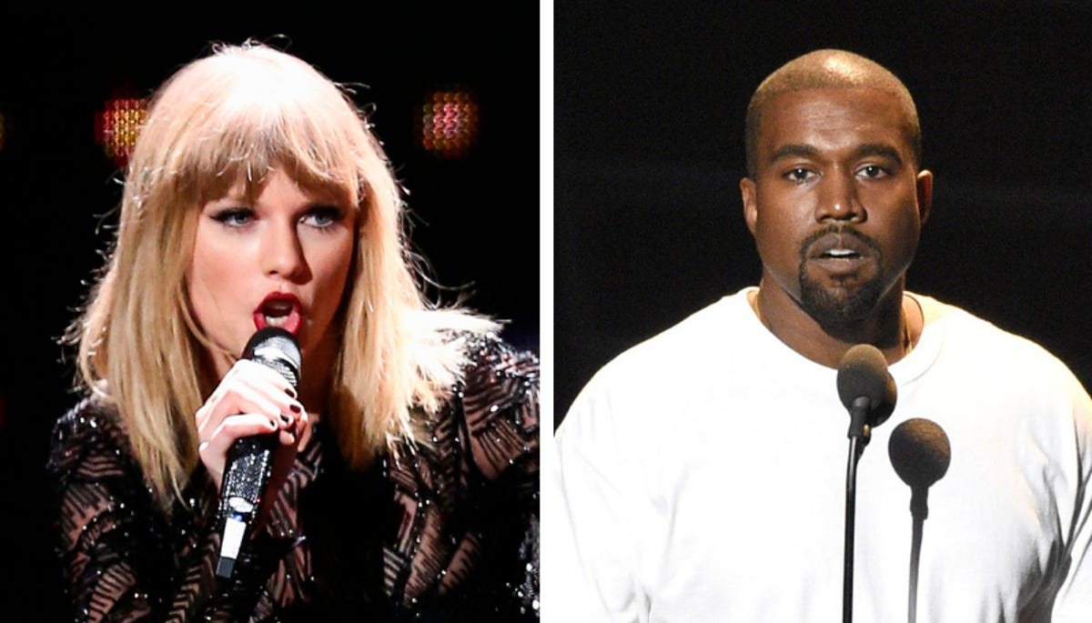 Taylor Swift Kanye West Surprise Fans With Political Leanings