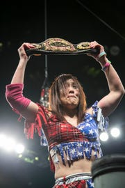 Ring of Honor's Women of Honor Champion is Sumie Sakai of Eatontown.