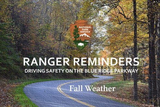 """The Blue Ridge Parkway has launched a series of """"Ranger Reminder"""" videos to encourage safety while driving during the busy fall season."""