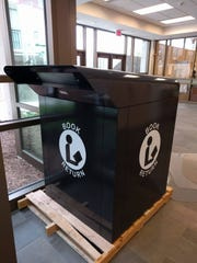 Buncombe County will install this new book drop in front of Pack Memorial Library within the next 4-6 weeks.