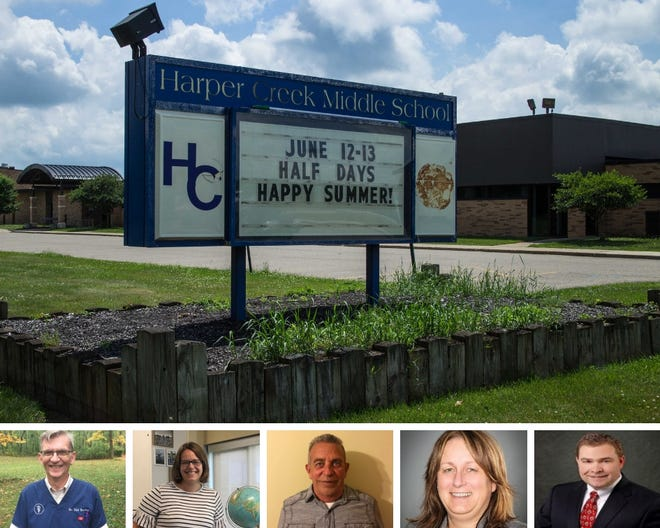 Harper Creek school board candidates