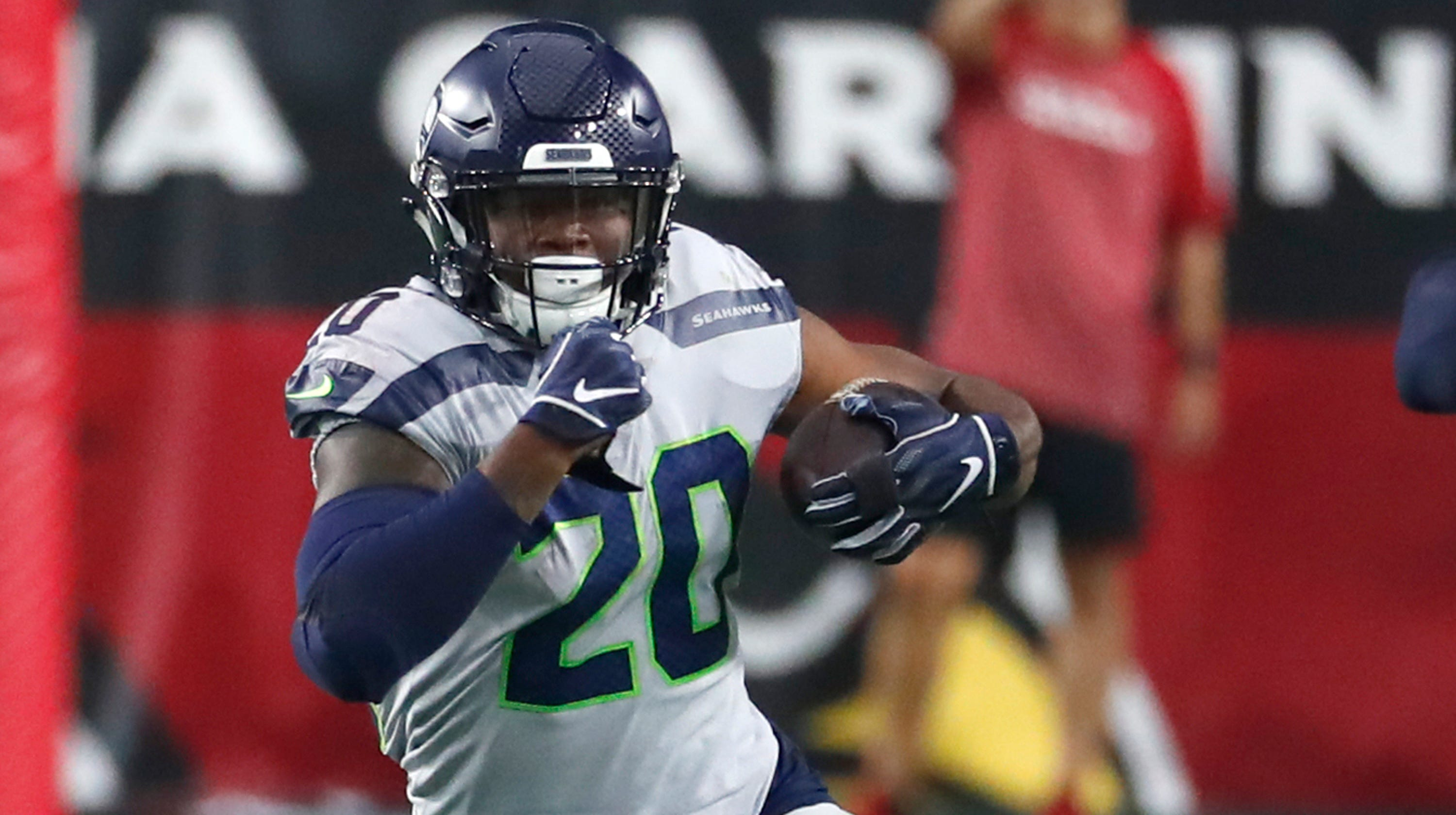 outlet store 26c1e d209f Seattle Seahawks' Rashaad Penny not happy about lack of ...