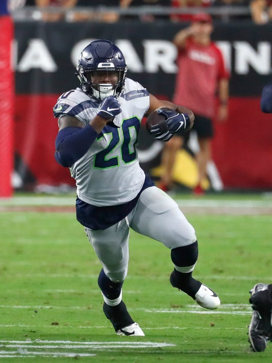 Seattle Seahawks  Rashaad Penny not happy about lack of playing time 8af2363f4