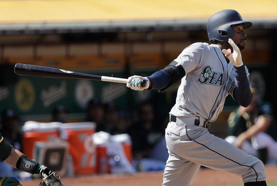 Dee Gordon hit just .268 this season, slumping after injuring a toe in May.
