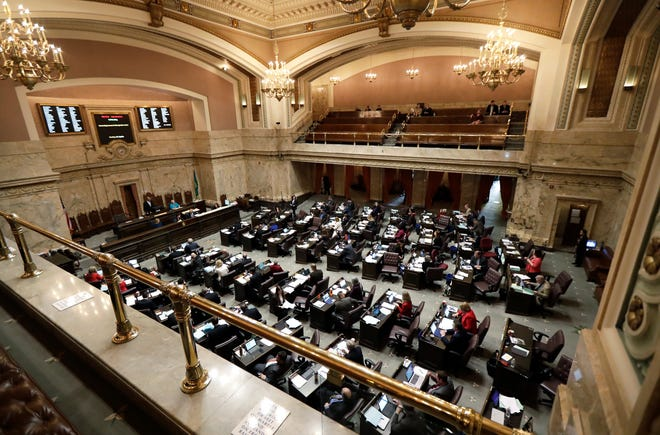 Dozens of races across the state in the upcoming election will determine if Democrats maintain -- or possibly even increase -- their control of the Legislature. (AP Photo/Ted S. Warren, File)