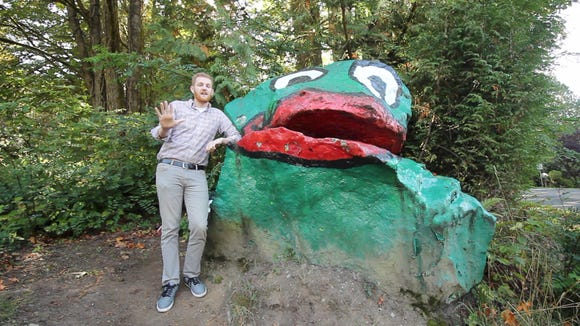 Frog Rock on Bainbridge Island.