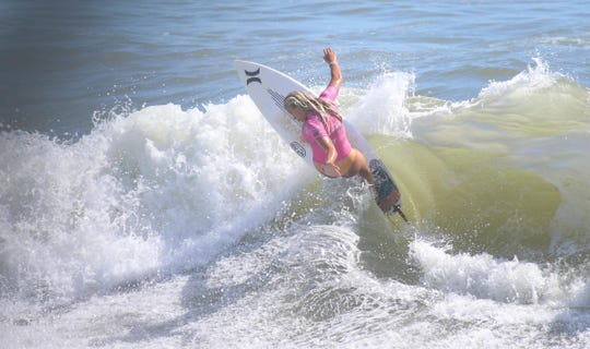 Presti showed preserverance and dominance on the waves in Jaco, collecting a 15.60 two-wave total score in the final that comboed her opponent, Tia Blanco.  Now representing Germany, the 16 year-old Melbourne Beach surfer hopes to get an opportunity to surf in the 2020 Olympic Games.